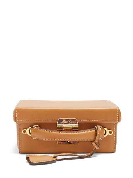 Mark Cross bag shoulder bag leather tan