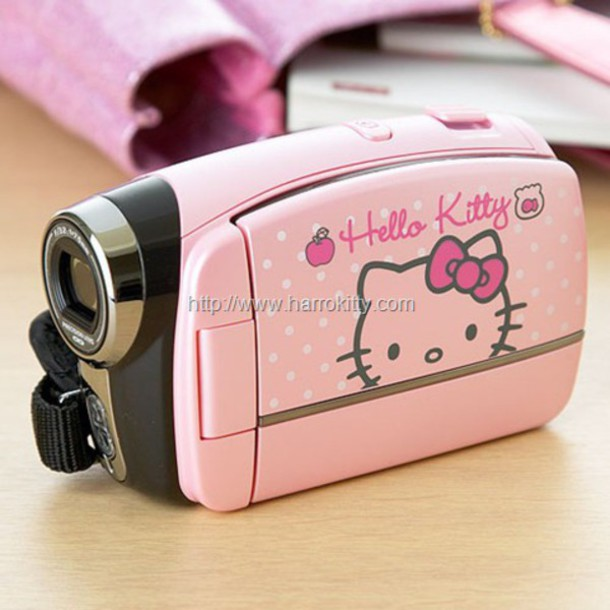 home accessory technology hello kitty girly