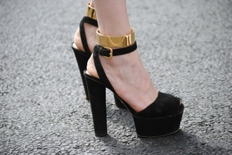 shoes neck cuff cuff jewels ankle cuffs shoe cuffs gold cuff