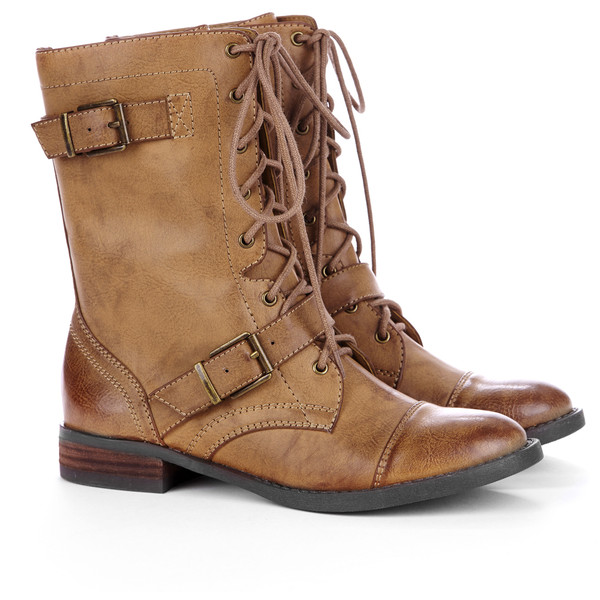 Sole Society Nessie combat boot - Polyvore