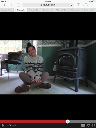 sweater urban outfitters bethany mota