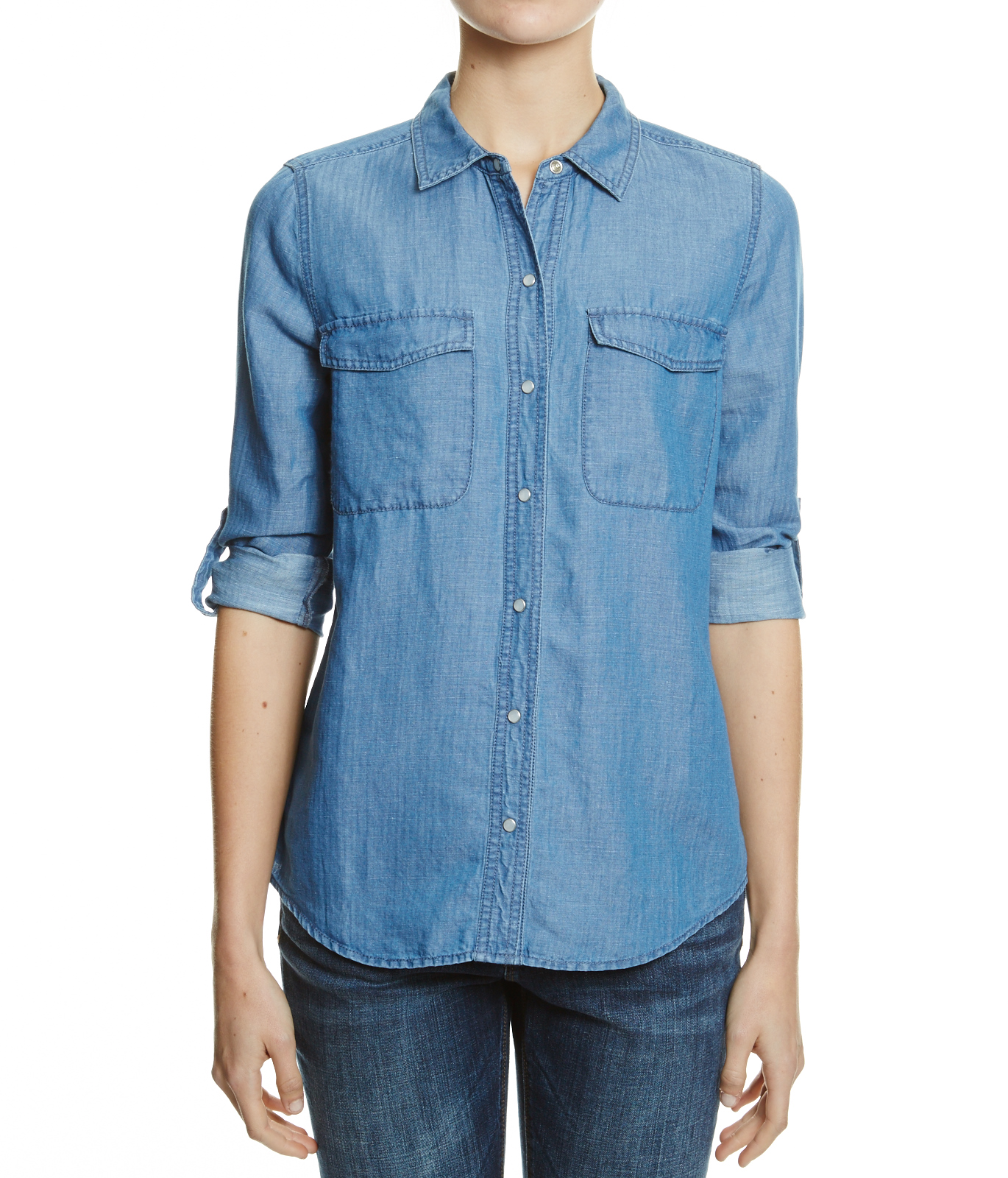 Denim Shirt - Denim On Denim - JAG Online Clothing
