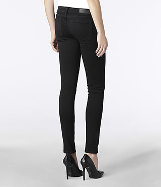 Womens Roseport Ashby Jeans (Black) | ALLSAINTS.com