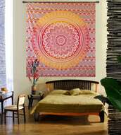 home accessory,hippie,tapestry,red,yellow,aztec,boho,bohemian,boho decor,pretty,tribal pattern,jewels,indie,bedding,bedroom,boho bedding,mandala,mandala wall hanging,elephant,elephant print,wall decor,hippie wall hanging,wall paper,wall tapestry,mandala fabric,cotton,tumblr,Handicrunch,colorful,home decor,homies,holiday home decor,home stickers,indian,indian bed spread,indian bedcover,print,printed tapestry,dorm tapestry,dorm decoration,dorm room,scarf,carpet,gypsy,hippy vibe,hipster vibe,urban,vintage,blanket,throw,throw blanket,psychedelic,psychedelic tapestries,stylish