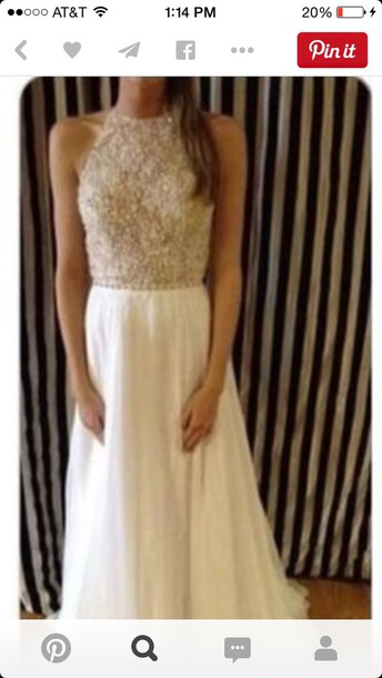dress beige dress sequin dress white dress long prom dress white prom dress beige prom dresses prom dress