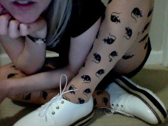 tights rat mouse mice stockings pantyhose