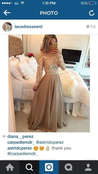 dress gold sparkle mustard prom long dress beautiful
