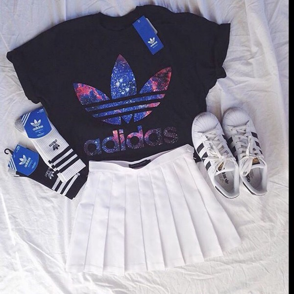 adidas Originals Galax... Swag Outfits For Girls For School