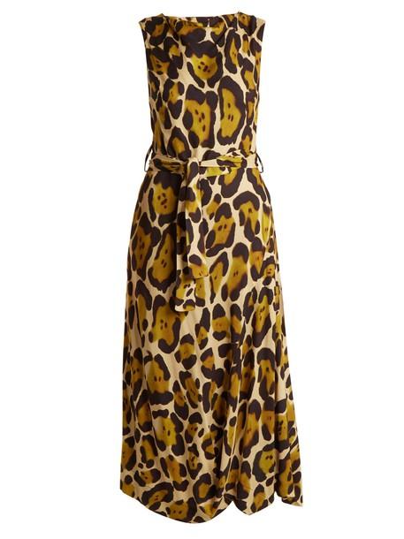 Vivienne Westwood Anglomania dress draped dress draped print