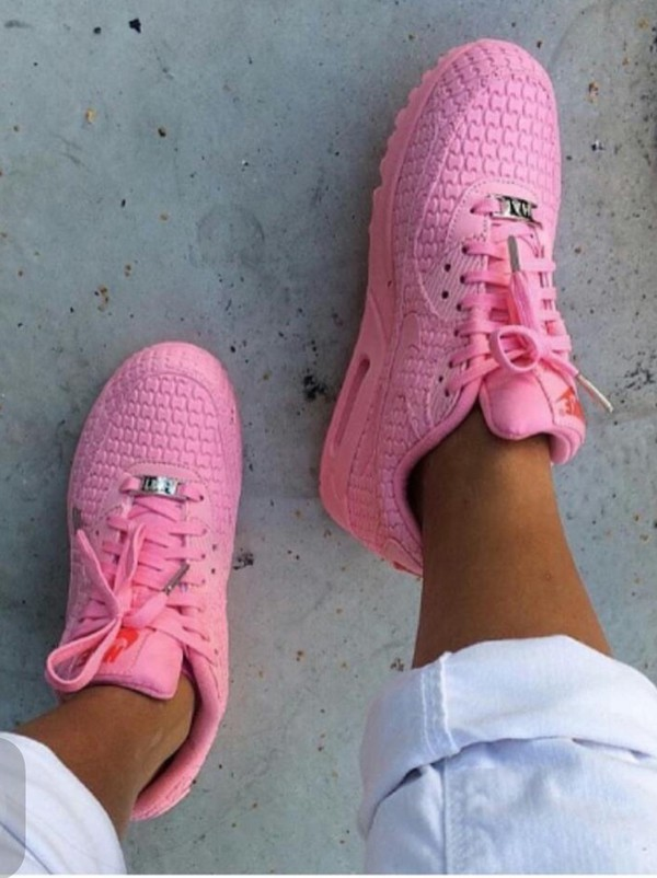 promo code 26118 39a8e shoes pink light pink shoes light pink shoes nike pink nike airmax nike air  max 90.