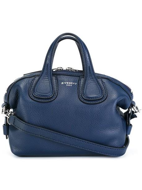 Givenchy women blue bag