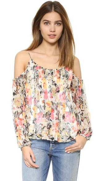 blouse floral top