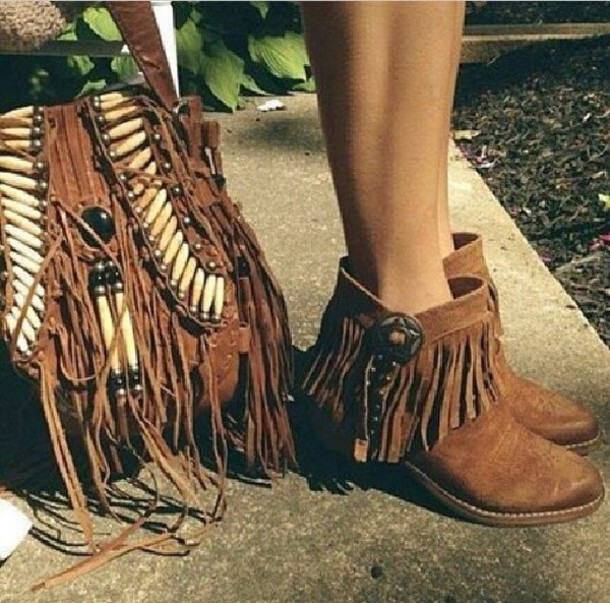 6df0f45433f0 shoes brown ankle boots brown bag bag