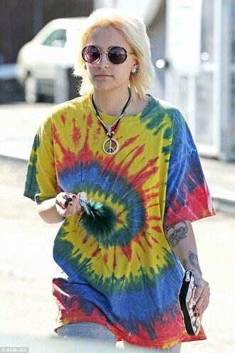 t-shirt paris jackson streetstyle celebrity style celebrity