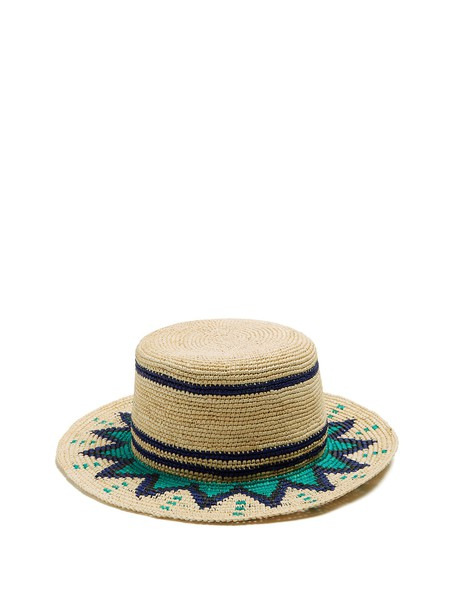 Sensi Studio hat straw hat blue