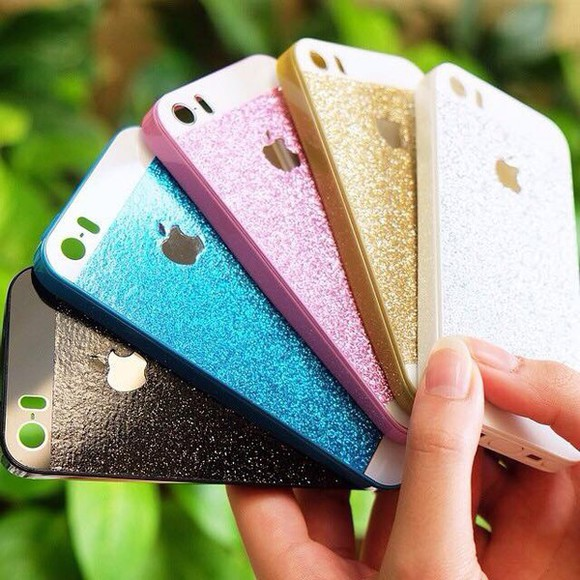 gold glitter sparkle phone case bling