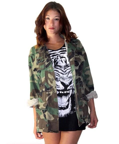camouflage jacket camoflauge