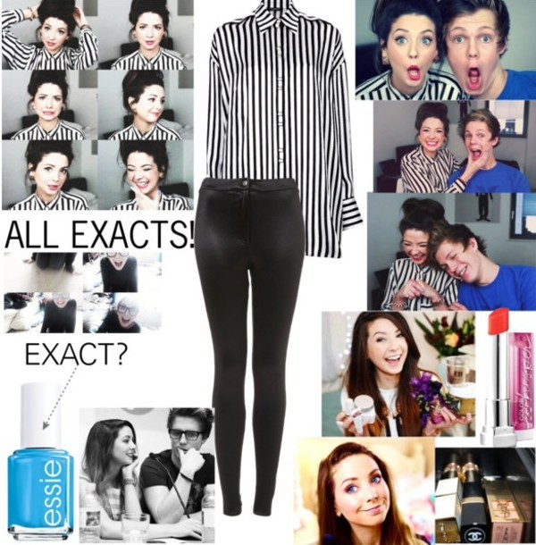leggings zoella discopants blouse