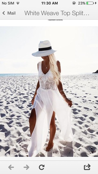 dress cute style girly girl girly wishlist maxi dress maxi white white dress crochet crochet dress
