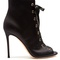 Satin lace-up boots | gianvito rossi | matchesfashion.com us