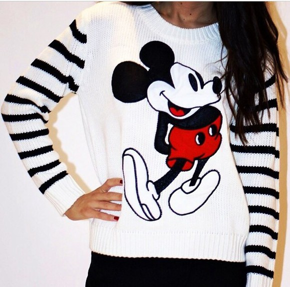 mickey mouse mickey mouse sweater sweater winter sweater long sleeve sweater