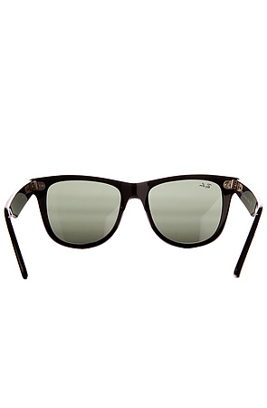 Ray Ban Sunglasses Original Wayfarer 54mm Logo Tinted Black -  Karmaloop.com