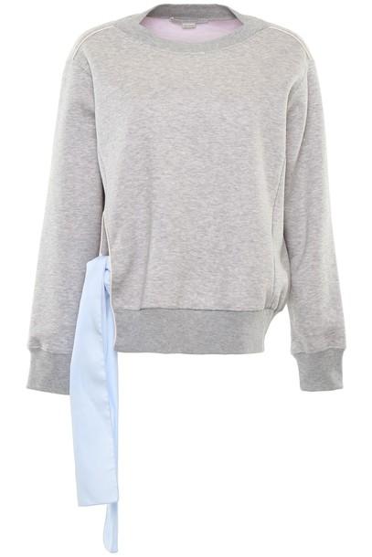 Stella McCartney sweatshirt cotton grey sweater