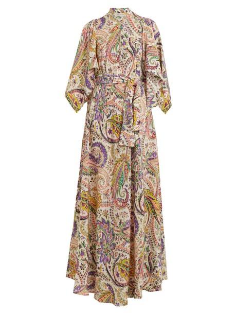 ETRO gown silk white dress