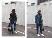 the fashion fraction,blogger,jacket,sweater,top,jeans,bag,shoes,oversized jacket,topshop,turtleneck sweater,asos,off the shoulder,zalando,streetwear