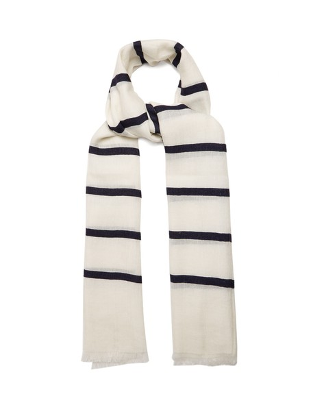 Max Mara scarf navy