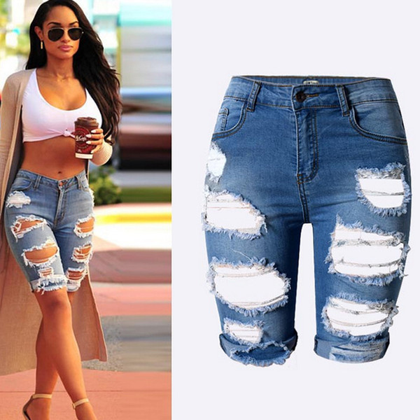 Days Ripped Capri Jeans