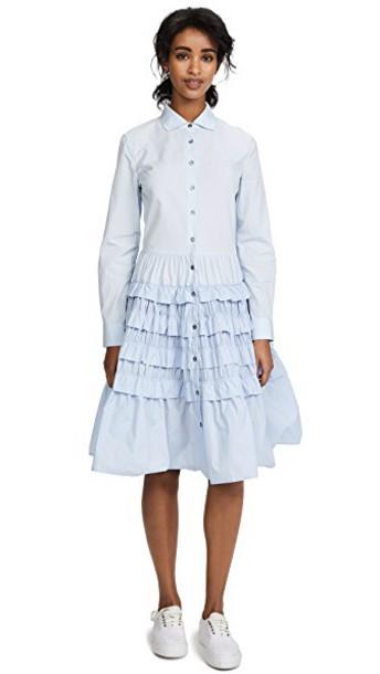 Jourden shirtdress classic blue dress