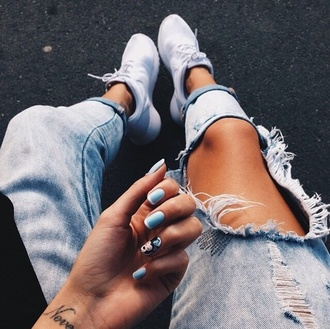 jeans ripped jeans pants