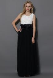 skirt,amore,maxi,tulle skirt,prom,black