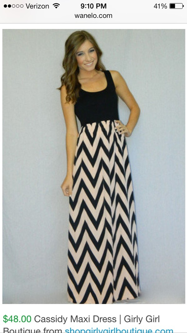 dress black chevron maxi dress