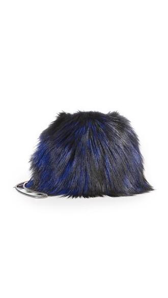 mini fur love bag mini bag