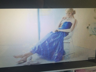 dress cinderella cinderella dress blue dress