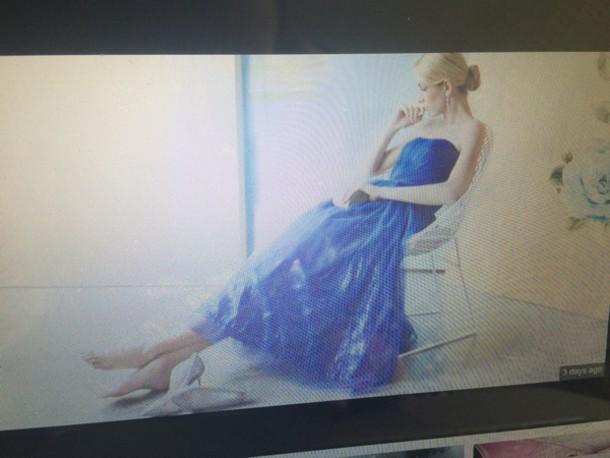 dress cinderella cinderella dress blue dress
