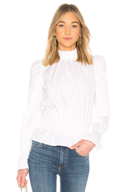 FRAME blouse white top