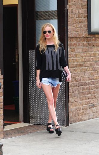 sweater top kate bosworth streetstyle