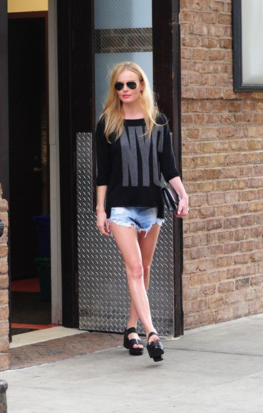 kate bosworth sweater top streetstyle