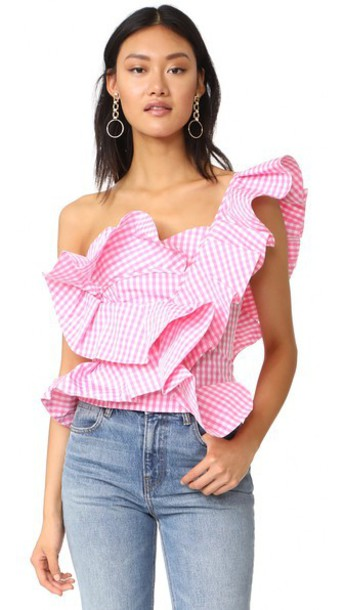 af282840825843 STYLEKEEPERS She s All That Top in pink - Wheretoget