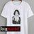 the cat and girl art Womens T-shirt Men T-Shirt