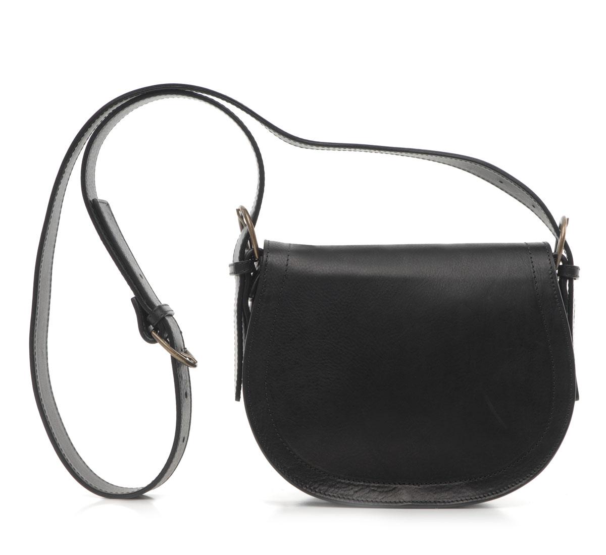 black saddle bag by samuji roztayger designer. Black Bedroom Furniture Sets. Home Design Ideas
