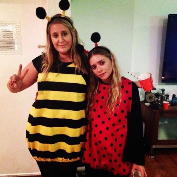 ashley olsen top costume halloween halloween costume ladybugs