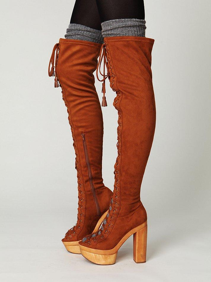 Free people devandra tall boot
