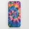 Tie dye iphone & ipod case by yael tal