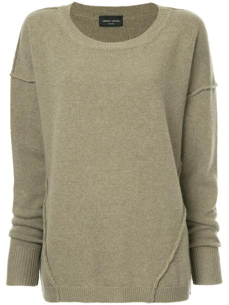 Roberto Collina sweater oversized women green