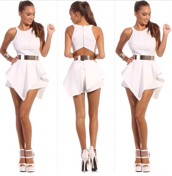 Aliexpress.com : Buy summer new fashion 2014 white asymmetric ...