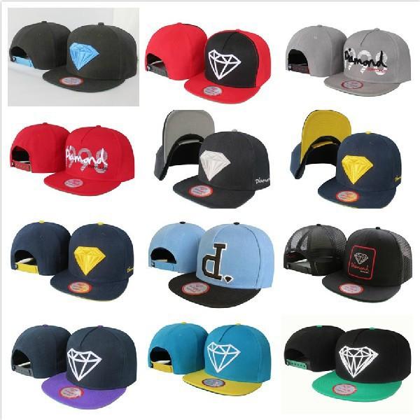 0febf866387 1 Pcs Drop Free shipping Diamond Snapback cap Men Basketball football Hip  Pop Baseball ...